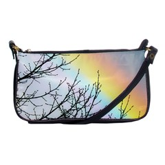Rainbow Sky Spectrum Rainbow Colors Shoulder Clutch Bag by Jojostore
