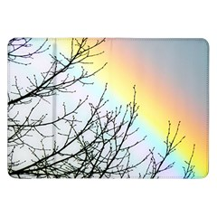 Rainbow Sky Spectrum Rainbow Colors Samsung Galaxy Tab 8 9  P7300 Flip Case