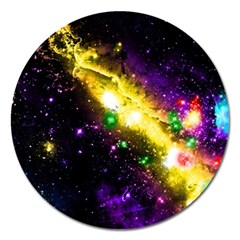 Galaxy Deep Space Space Universe Stars Nebula Magnet 5  (round) by Jojostore