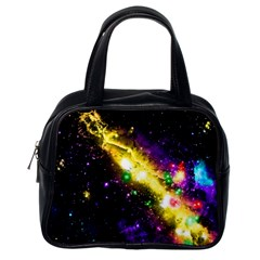 Galaxy Deep Space Space Universe Stars Nebula Classic Handbag (one Side) by Jojostore