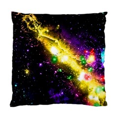 Galaxy Deep Space Space Universe Stars Nebula Standard Cushion Case (two Sides) by Jojostore