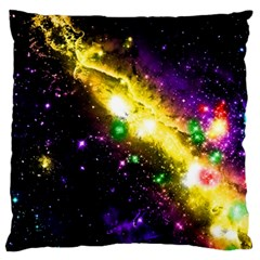 Galaxy Deep Space Space Universe Stars Nebula Large Cushion Case (two Sides) by Jojostore