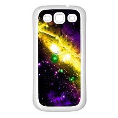 Galaxy Deep Space Space Universe Stars Nebula Samsung Galaxy S3 Back Case (white) by Jojostore