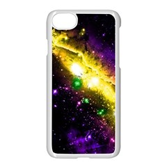Galaxy Deep Space Space Universe Stars Nebula Apple Iphone 8 Seamless Case (white) by Jojostore