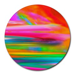 Abstract Illustration Nameless Fantasy Round Mousepads by Jojostore