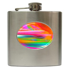 Abstract Illustration Nameless Fantasy Hip Flask (6 Oz) by Jojostore