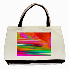 Abstract Illustration Nameless Fantasy Basic Tote Bag (two Sides) by Jojostore