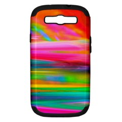 Abstract Illustration Nameless Fantasy Samsung Galaxy S Iii Hardshell Case (pc+silicone)