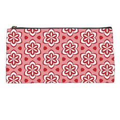 Floral Abstract Pattern Pencil Cases