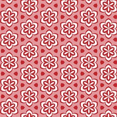Floral Abstract Pattern Magic Photo Cube