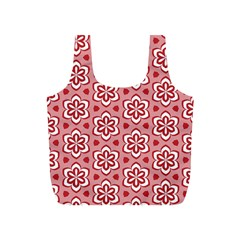 Floral Abstract Pattern Full Print Recycle Bag (s)