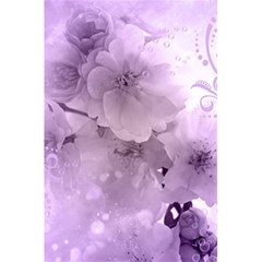 Wonderful Flowers In Soft Violet Colors 5 5  X 8 5  Notebook