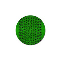 Forest Flowers In The Green Soft Ornate Nature Golf Ball Marker by pepitasart