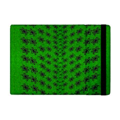 Forest Flowers In The Green Soft Ornate Nature Apple Ipad Mini Flip Case by pepitasart