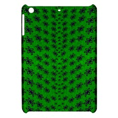 Forest Flowers In The Green Soft Ornate Nature Apple Ipad Mini Hardshell Case