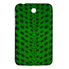 Forest Flowers In The Green Soft Ornate Nature Samsung Galaxy Tab 3 (7 ) P3200 Hardshell Case  by pepitasart
