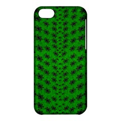 Forest Flowers In The Green Soft Ornate Nature Apple Iphone 5c Hardshell Case