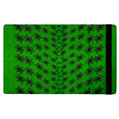 Forest Flowers In The Green Soft Ornate Nature Ipad Mini 4 by pepitasart