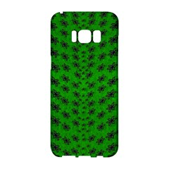 Forest Flowers In The Green Soft Ornate Nature Samsung Galaxy S8 Hardshell Case