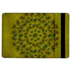 Flower Wreath In The Green Soft Yellow Nature Ipad Air 2 Flip