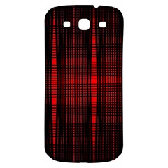 Black And Red Backgrounds Samsung Galaxy S3 S Iii Classic Hardshell Back Case by Jojostore