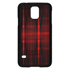 Black And Red Backgrounds Samsung Galaxy S5 Case (black)