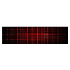 Black And Red Backgrounds Satin Scarf (oblong)