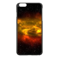 Galaxy Nebula Space Cosmos Universe Fantasy Apple Iphone 6 Plus/6s Plus Black Enamel Case by Jojostore