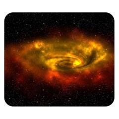 Galaxy Nebula Space Cosmos Universe Fantasy Double Sided Flano Blanket (small)