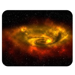 Galaxy Nebula Space Cosmos Universe Fantasy Double Sided Flano Blanket (medium)  by Jojostore