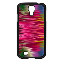 Abstract Pink Colorful Water Background Samsung Galaxy S4 I9500/ I9505 Case (black)