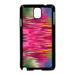 Abstract Pink Colorful Water Background Samsung Galaxy Note 3 Neo Hardshell Case (black) by Jojostore