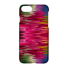 Abstract Pink Colorful Water Background Apple Iphone 8 Hardshell Case by Jojostore