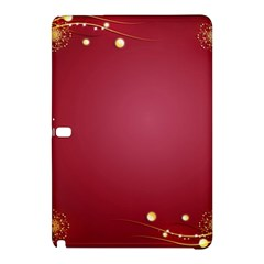 Red Background With A Pattern Samsung Galaxy Tab Pro 12 2 Hardshell Case by Jojostore