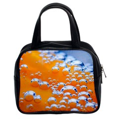Bubbles Background Classic Handbag (two Sides)
