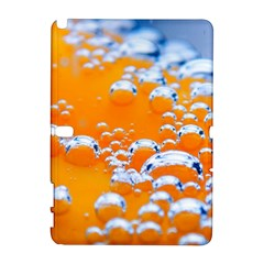 Bubbles Background Samsung Galaxy Note 10 1 (p600) Hardshell Case