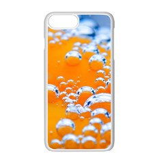 Bubbles Background Apple Iphone 7 Plus Seamless Case (white)
