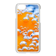 Bubbles Background Apple Iphone 7 Seamless Case (white)