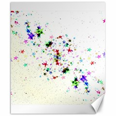 Star Structure Many Repetition Canvas 20  X 24  by Jojostore