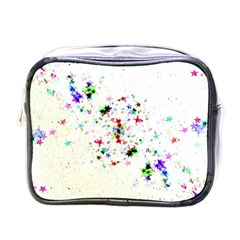 Star Structure Many Repetition Mini Toiletries Bag (one Side) by Jojostore