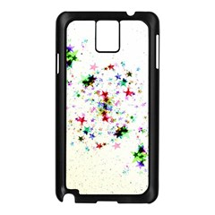 Star Structure Many Repetition Samsung Galaxy Note 3 N9005 Case (black) by Jojostore