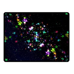 Star Structure Many Repetition Fleece Blanket (small) by Jojostore