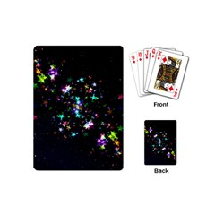 Star Structure Many Repetition Playing Cards (mini)