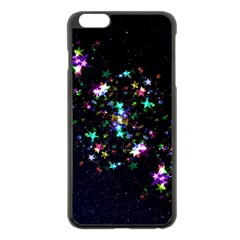 Star Structure Many Repetition Apple Iphone 6 Plus/6s Plus Black Enamel Case by Jojostore