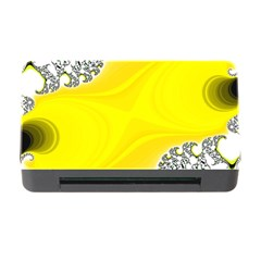 Fractal Abstract Background Memory Card Reader With Cf by Jojostore