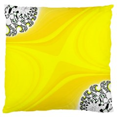 Fractal Abstract Background Large Cushion Case (one Side) by Jojostore