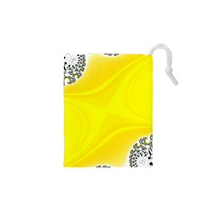 Fractal Abstract Background Drawstring Pouch (xs) by Jojostore