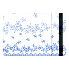 Blue And White Floral Background Apple Ipad 9 7 by Jojostore