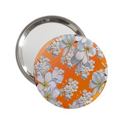 Flowers Background Backdrop Floral 2 25  Handbag Mirrors by Jojostore