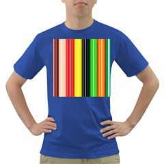 Colorful Striped Background Wallpaper Pattern Dark T Shirt